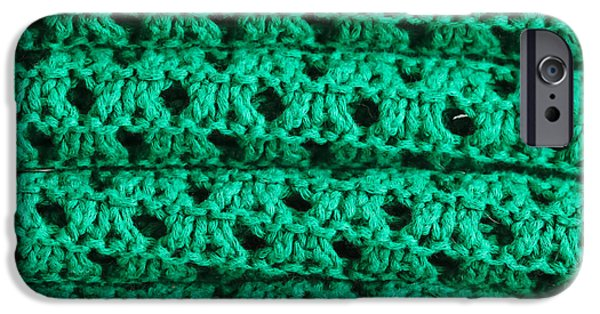 Cheap iPhone Cases - Green wool iPhone Case by Tom Gowanlock
