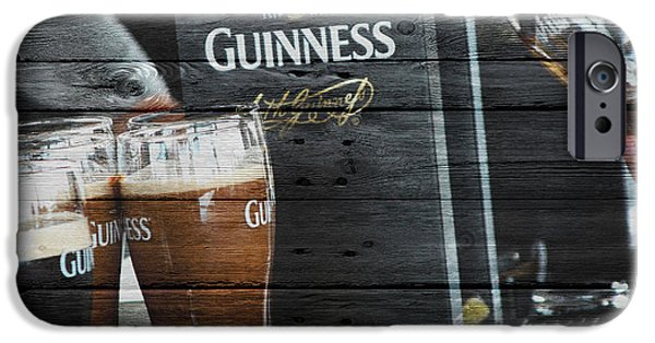 Tap iPhone Cases - Guinness iPhone Case by Joe Hamilton