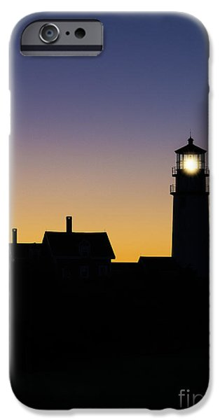 Cape Cod Lighthouse iPhone Cases - Highland Lighthouse iPhone Case by John Greim