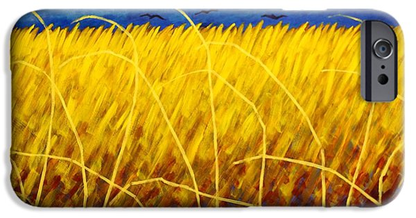 Crows iPhone Cases - Homage To Van Gogh iPhone Case by John  Nolan