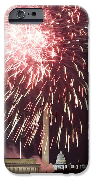 July 4th Fireworks iPhone Case by JP Tripp