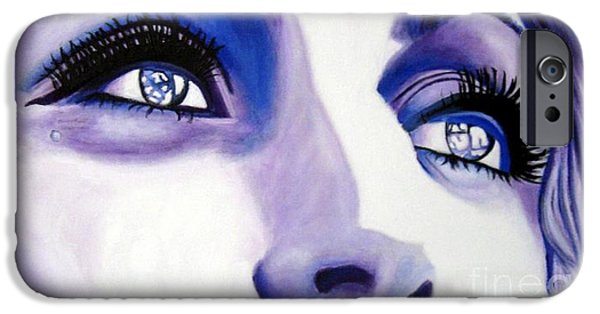 Painter Photo Mixed Media iPhone Cases - Dreamer iPhone Case by Venus