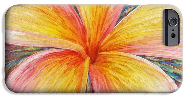 Invitations Paintings iPhone Cases - Leelawadee iPhone Case by Atiketta Sangasaeng