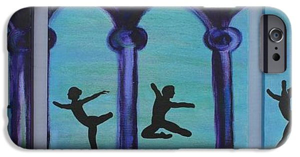 Ballet Dancers iPhone Cases - Life Scars iPhone Case by Lara Whitmore