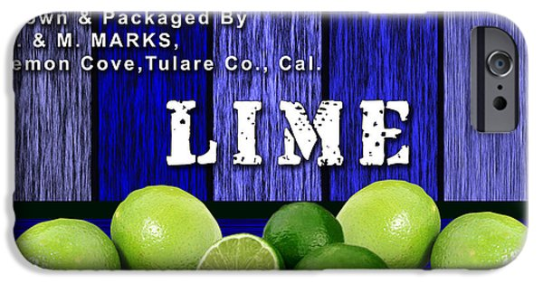 Lime iPhone Cases - Lime Farm iPhone Case by Marvin Blaine