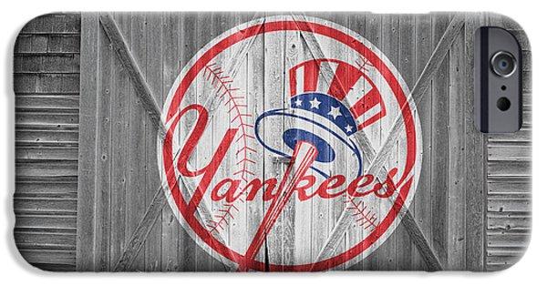 Yankee iPhone Cases - New York Yankees iPhone Case by Joe Hamilton