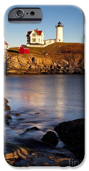 Nubble iPhone Cases - Nubble Lighthouse iPhone Case by Brian Jannsen