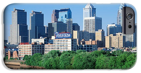 Schuylkill iPhone Cases - Philadelphia, Pennsylvania, Usa iPhone Case by Panoramic Images