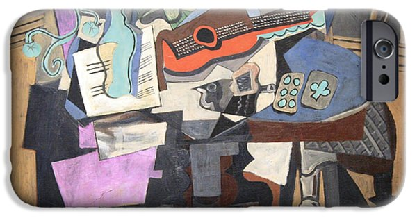 Cora Wandel iPhone Cases - Picassos Still Life iPhone Case by Cora Wandel