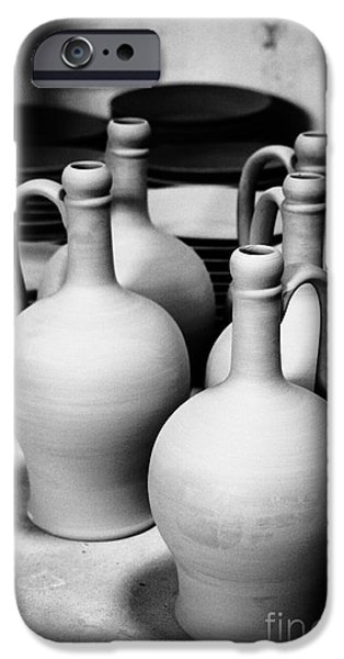 Pottery Pitcher iPhone Cases - Pottery iPhone Case by Gaspar Avila
