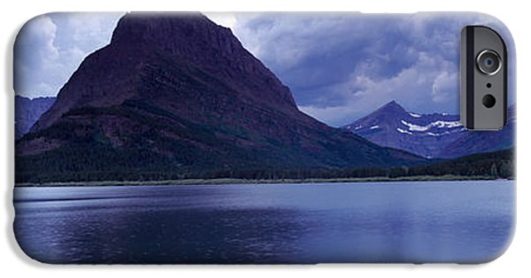 Generic iPhone Cases - Reflection Of Mountains In A Lake iPhone Case by Panoramic Images
