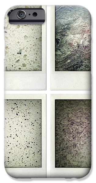 Textures iPhone Case by Les Cunliffe