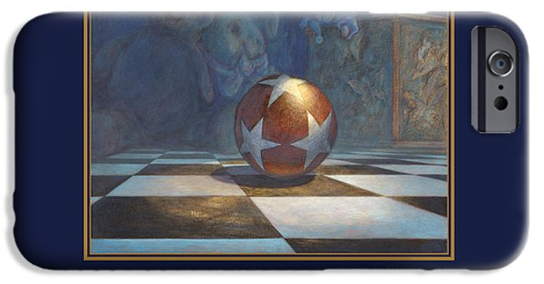 Leonard Filgate Digital iPhone Cases - The Ball iPhone Case by Leonard Filgate