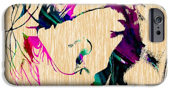 Batman iPhone Cases - The Joker Heath Ledger Collection iPhone Case by Marvin Blaine