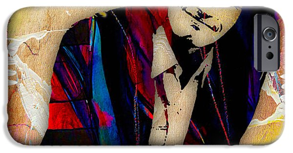 Pop iPhone Cases - Tim Buckley Collection iPhone Case by Marvin Blaine