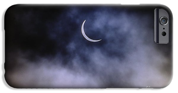 Solar Eclipse iPhone Cases - Total Solar Eclipse iPhone Case by John Chumack