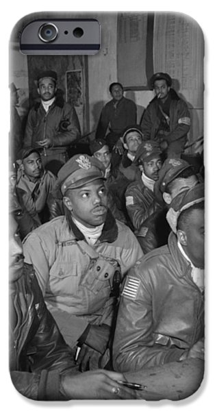TUSKEGEE AIRMEN, 1945 iPhone Case by Granger