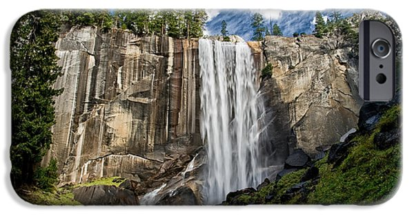 River iPhone Cases - Vernal Falls iPhone Case by Cat Connor