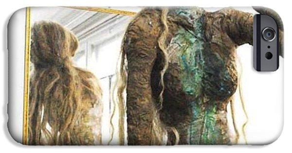 Installation Sculptures iPhone Cases - Victor i ja Poposka iPhone Case by Victor Ya Pop