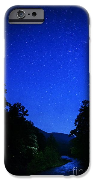 Williams River Summer Solstice Night iPhone Case by Thomas R Fletcher