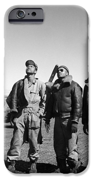WWII: TUSKEGEE AIRMEN, 1945 iPhone Case by Granger