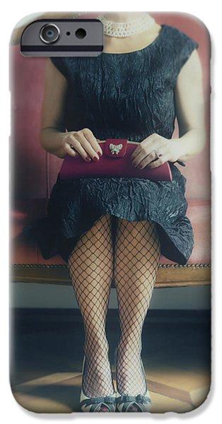 40s lady iPhone Case by Joana Kruse