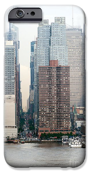 River View iPhone Cases - 42nd Street New York City iPhone Case by Ray Warren
