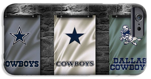 Sports Bar iPhone Cases - Dallas Cowboys iPhone Case by Joe Hamilton