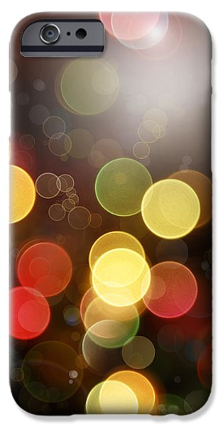Vertical Digital iPhone Cases - Abstract background iPhone Case by Les Cunliffe