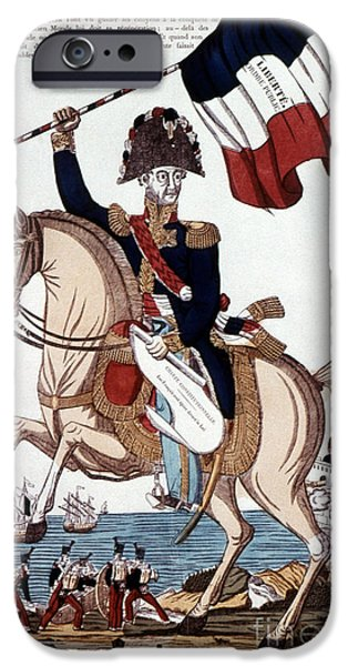 Constitution Drawings iPhone Cases - Marquis De Lafayette  iPhone Case by Granger