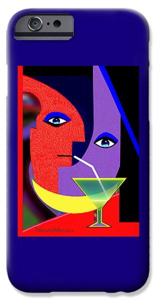 440 iPhone Cases - 440 - Party Pop  ...  iPhone Case by Irmgard Schoendorf Welch