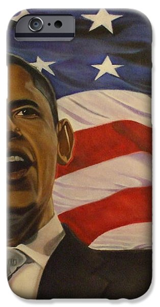 44th President of Change  iPhone Case by Jamie Preston