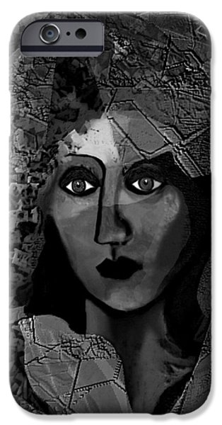 Irmgard iPhone Cases - 455 - Arabella   iPhone Case by Irmgard Schoendorf Welch