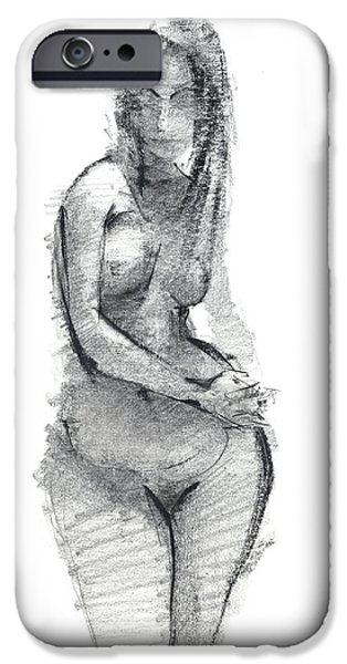 Miami Drawings iPhone Cases - RCNpaintings.com iPhone Case by Chris N Rohrbach