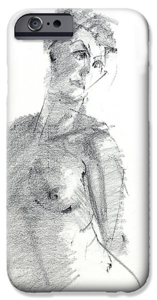 Berlin Drawings iPhone Cases - RCNpaintings.com iPhone Case by Chris N Rohrbach