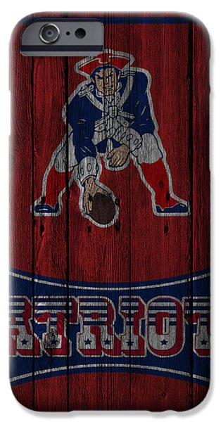 Patriots iPhone Cases - New England Patriots iPhone Case by Joe Hamilton