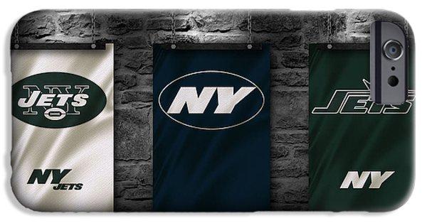 New York Jets iPhone Cases - New York Jets iPhone Case by Joe Hamilton