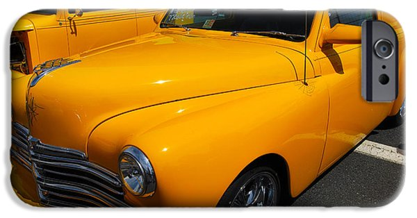 1949 Plymouth iPhone Cases - 49 Plymouth Sedan Delivery iPhone Case by Mark Spearman