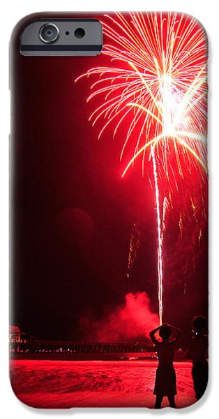 4th of july - Naples iPhone Case by Creathieve Studio