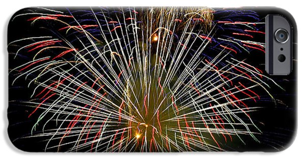 4th July iPhone Cases - 4th of July 1 iPhone Case by Marilyn Hunt