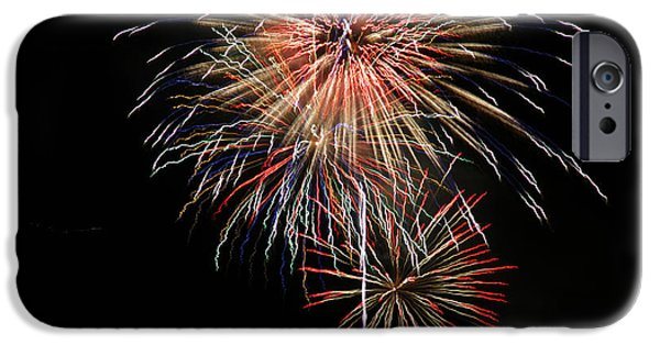 4th July iPhone Cases - 4th of July 3 iPhone Case by Marilyn Hunt