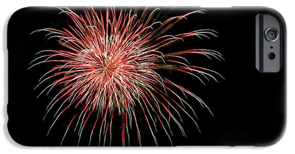 4th July iPhone Cases - 4th of July 4 iPhone Case by Marilyn Hunt