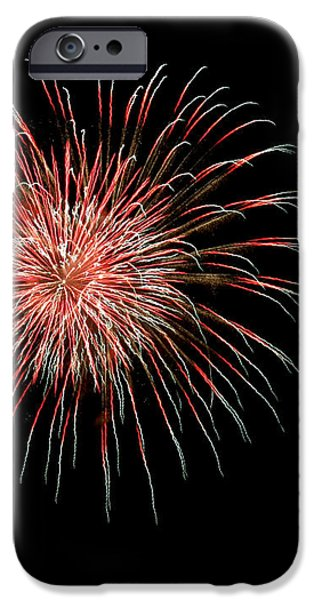 4th of July 4 iPhone Case by Marilyn Hunt