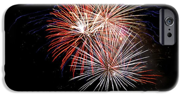 4th July iPhone Cases - 4th Of July 7 iPhone Case by Marilyn Hunt