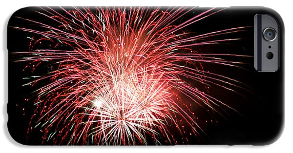4th July iPhone Cases - 4th of July 8 iPhone Case by Marilyn Hunt