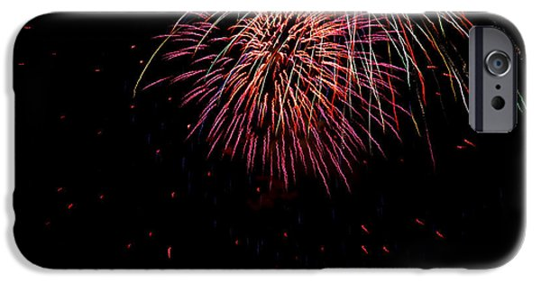 4th July iPhone Cases - 4th of July 9 iPhone Case by Marilyn Hunt