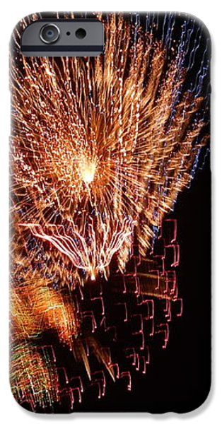 4th of July iPhone Case by April Lerro