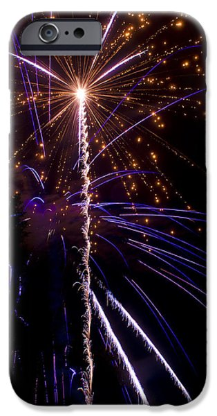 4th of July Fireworks iPhone Case by Ray Devlin