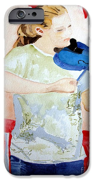 4th of July iPhone Case by Sandy McIntire