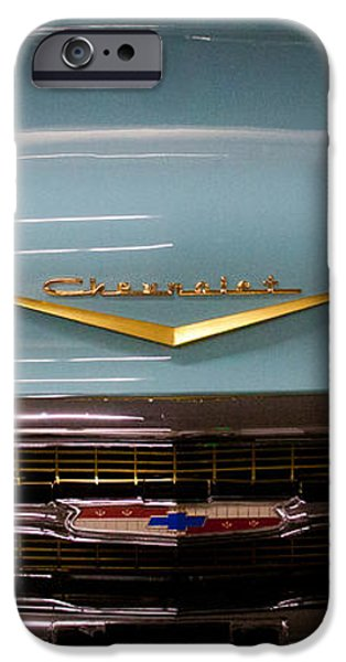 1957 Chevy Bel Air iPhone Case by David Patterson